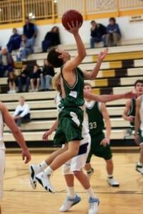Basketball Layup Drill