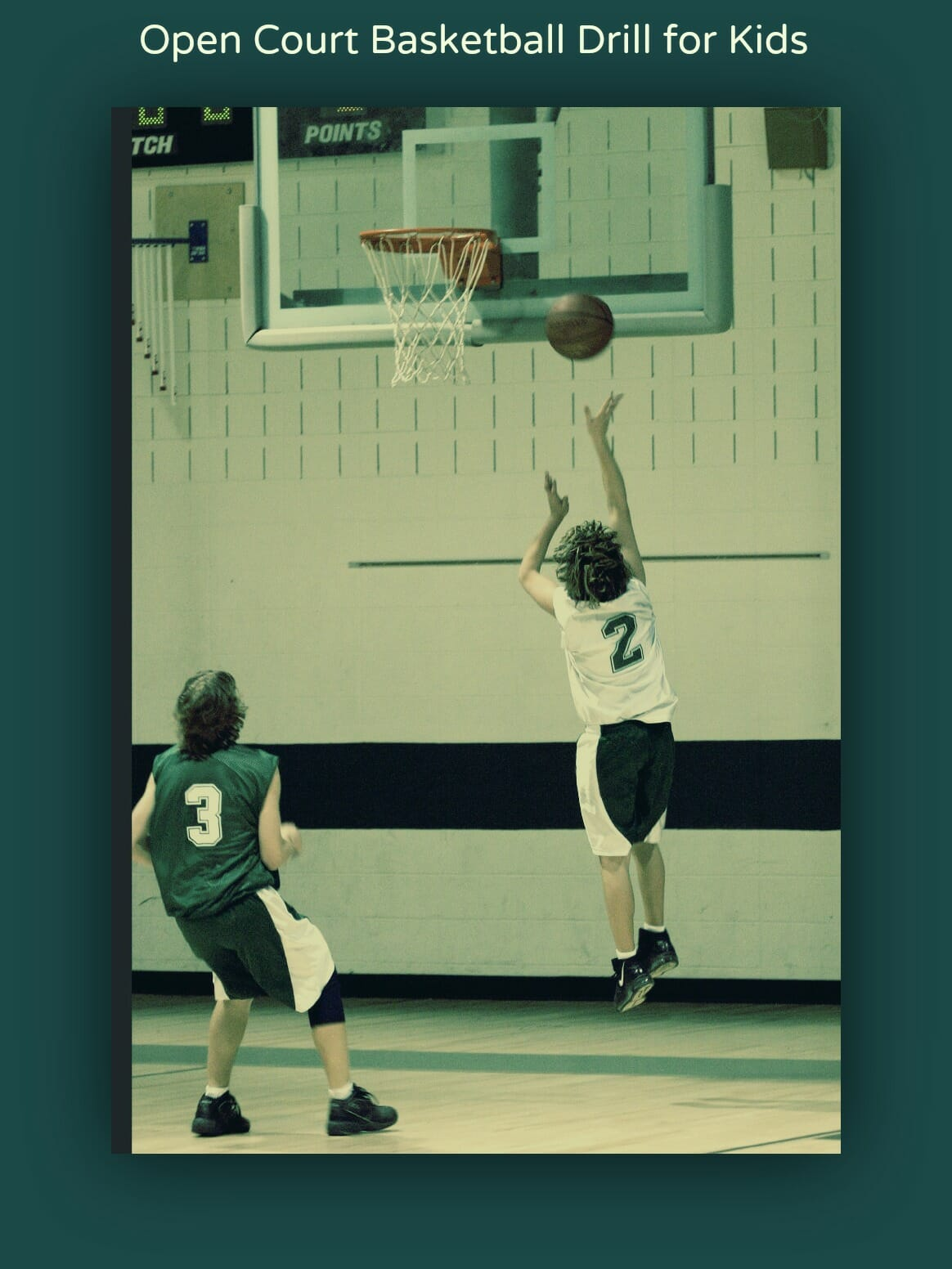 basketball drill for kids