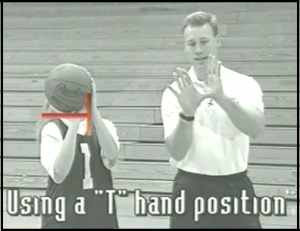Basketball Practice T Position