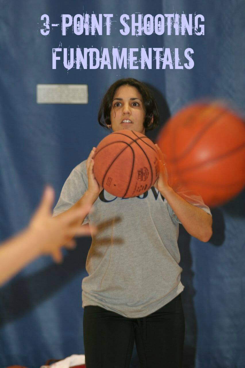 coaching kids basketball 3 point shooting