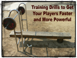 training drills