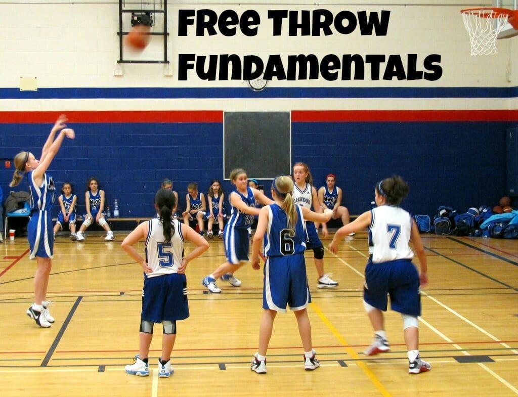 youth basketball free throw