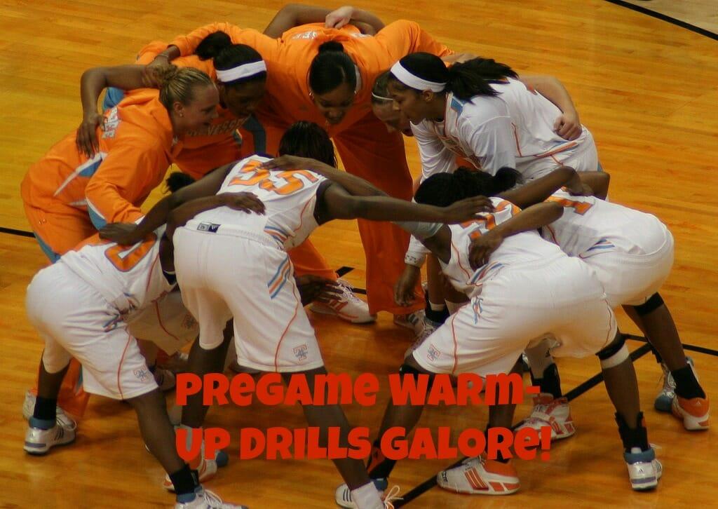 pregame drills