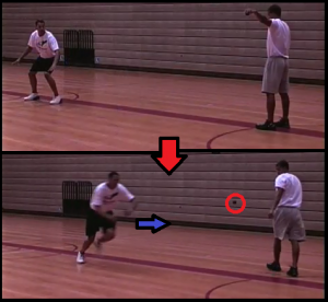 ball drop beginner basketball drill