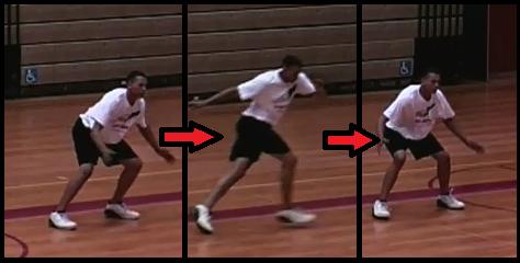 crossover basketball drill