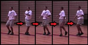 skippiocca beginner basketball drill