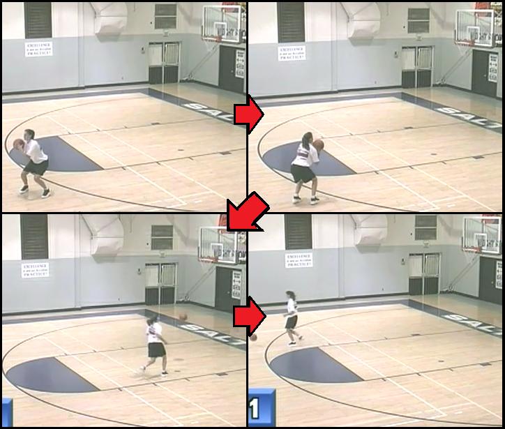 triple threat basketball practice