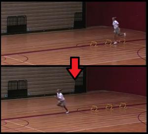 hurdle hops youth basketball drill