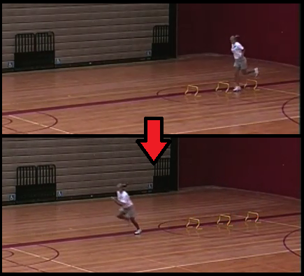 hurdle hops youth basketball drill