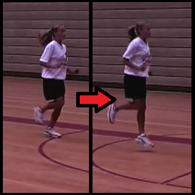 pogo hops youth basketball drill