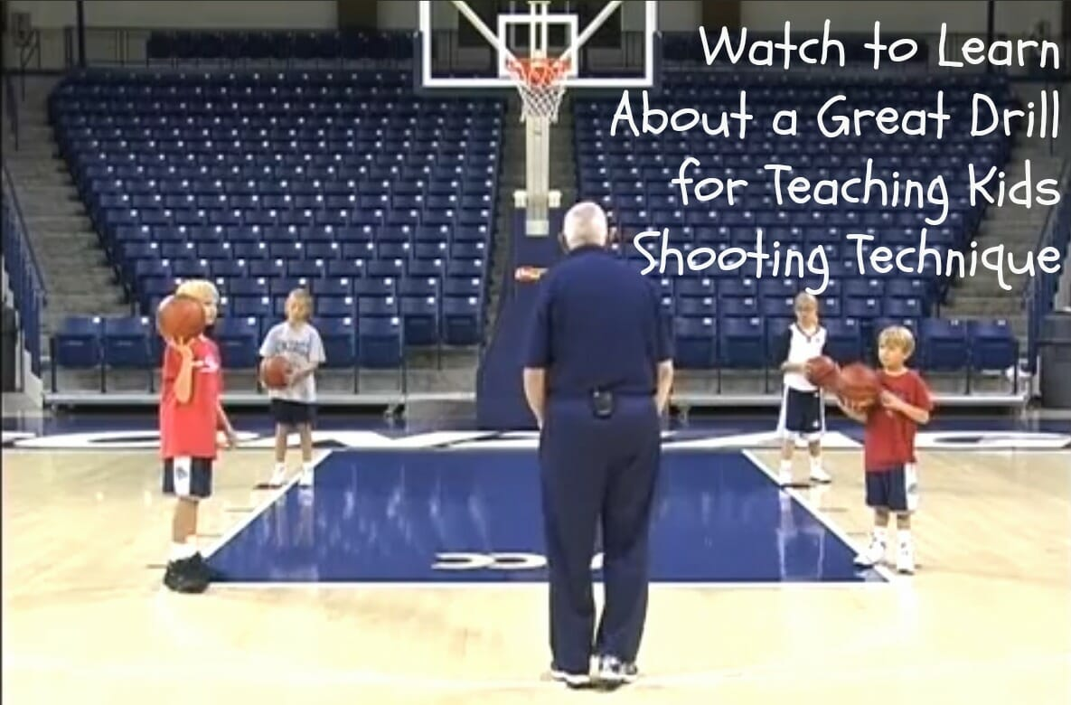 Beginner Basketball Drill Video: Learn The Form Shooting Drill