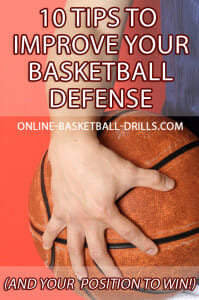 baskeball defense