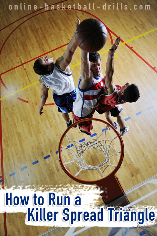 Basketball offense how to run a killer spread triangle