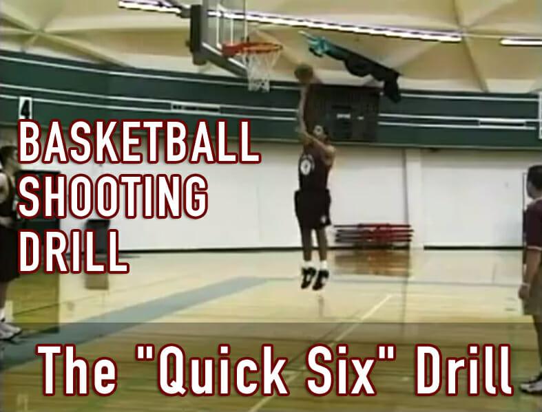 basketball shooting drill quick six