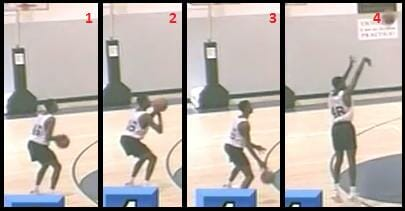 3 point shooting drill 3