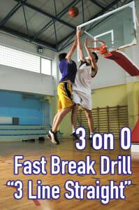 fast break drill