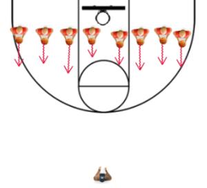 red light green light basketball drills