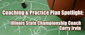 practice plan corry irvin