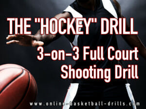 hockey full court shooting drill