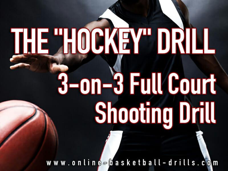 hockey full court shooting drill