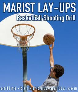 marist layups basketball shooting drill
