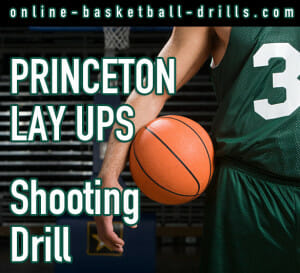 princeton layups basketball shooting drill
