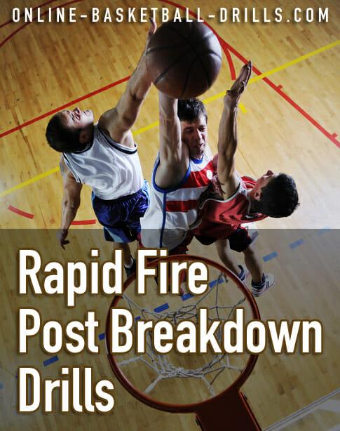 rapid fire post breakdown drills