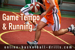transitionbasketball game tempo
