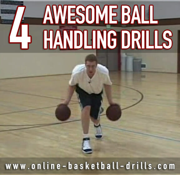 4 Awesome Ball Handling Drills to Improve Your Game | Online Basketball Drills