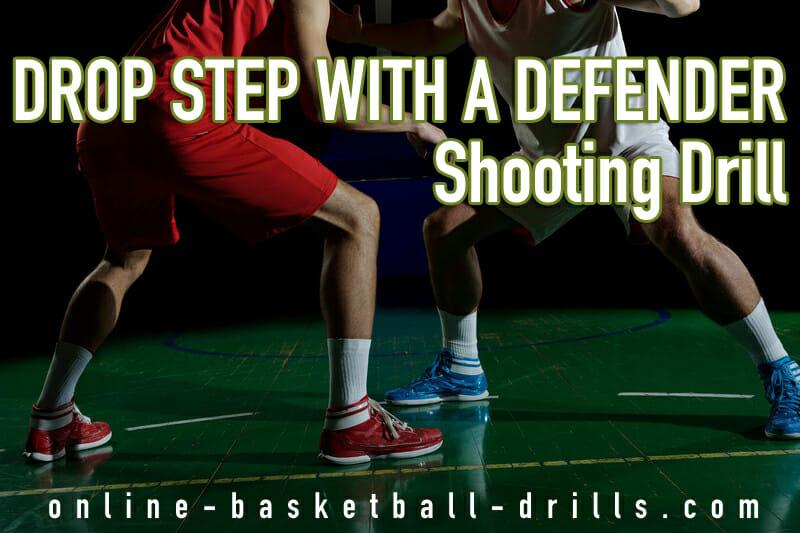 drop step shooting drill