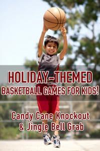 holiday basketball games for kids