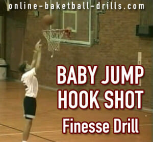jump hook shot drill