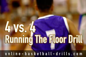 running the floor drill 2