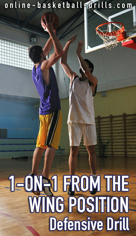 1 The Magician On Pinterest: Defensive Drill: 1-on-1 From The Wing Position