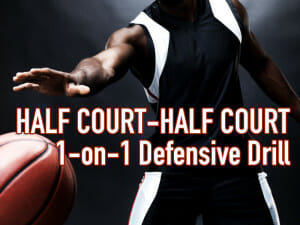 half court defensive drill