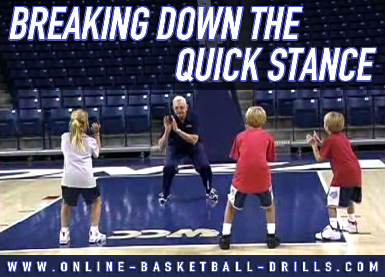 breaking down the quick stance
