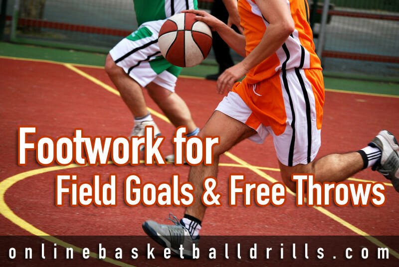 how to work on basketball footwork