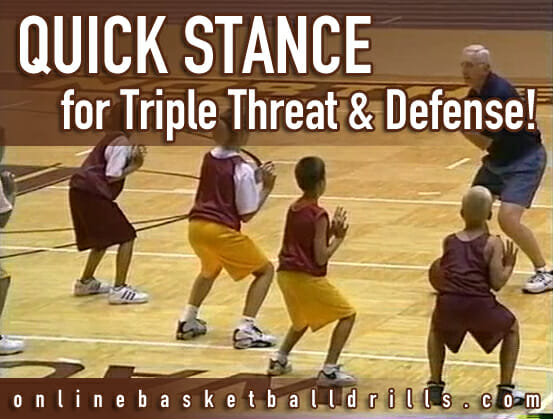 quick stance triple threat defense copy