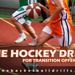 Transition Offense: The Hockey Drill
