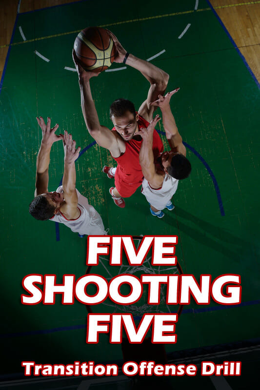 FIVE SHOOTING FIVE TRANSITION OFFENSE