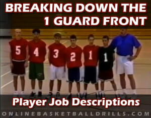 1 GUARD FRONT JOB DESCRIPTIONS