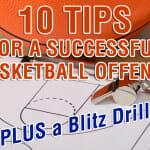 Blitz Passing Drill