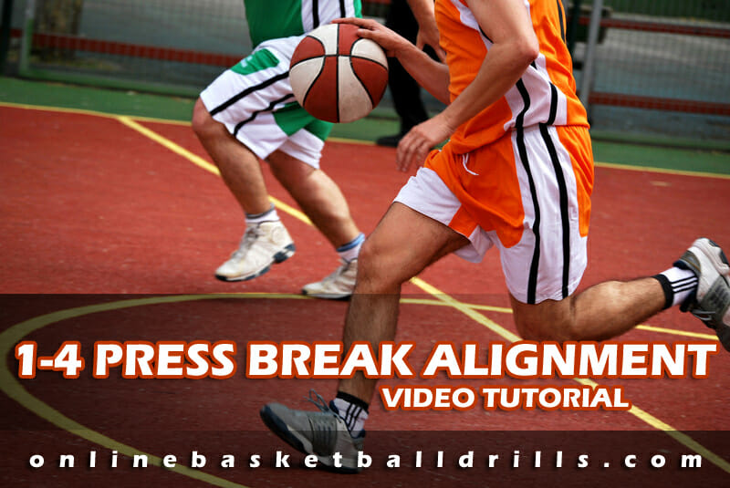 1 4 press break alignment