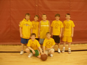 coaching kids basketball