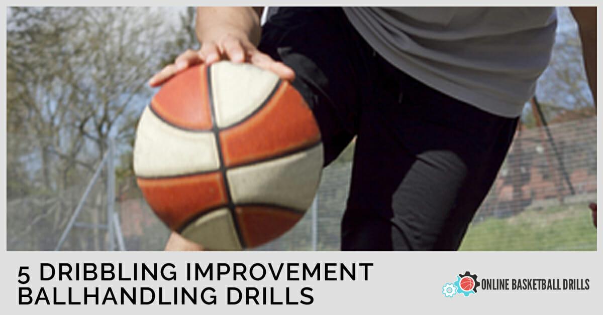 How to: DRIBBLE A Basketball BETTER!!! 🏀🔥 Improve Ball ... |Better Ball Handling Drills