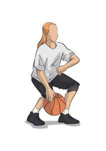 basketball dribbling drills - control dribble