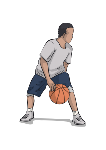 crossover dribble drills