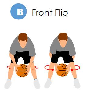 maravich front flip
